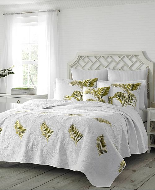 Tommy Bahama Home Tommy Bahama Breezeway King Quilt