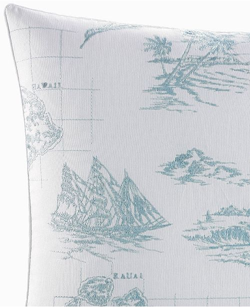 Tommy Bahama Home Tommy Bahama Sailaway Square Decorative