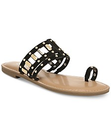 Bar III Avah Flat Sandals, Created for Macy's