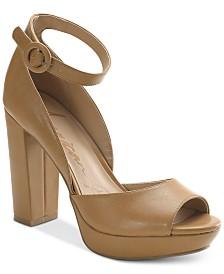 American Rag Reeta Block-Heel Platform Sandals, Created for Macy's