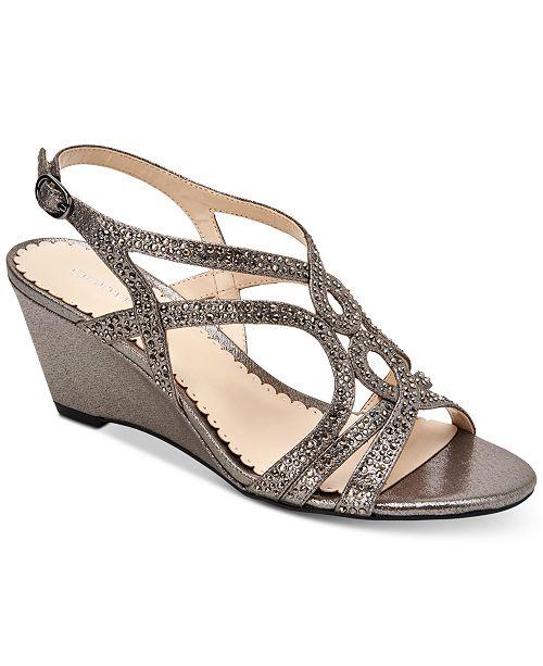 Charter Club Women's Kelsah Wedge Sandals, Created for Macy's
