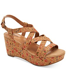 Style & Co Ionna Wedge Sandals, Created for Macy's