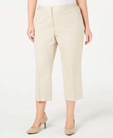 Alfani Plus Size Capri Pants, Created For Macy's