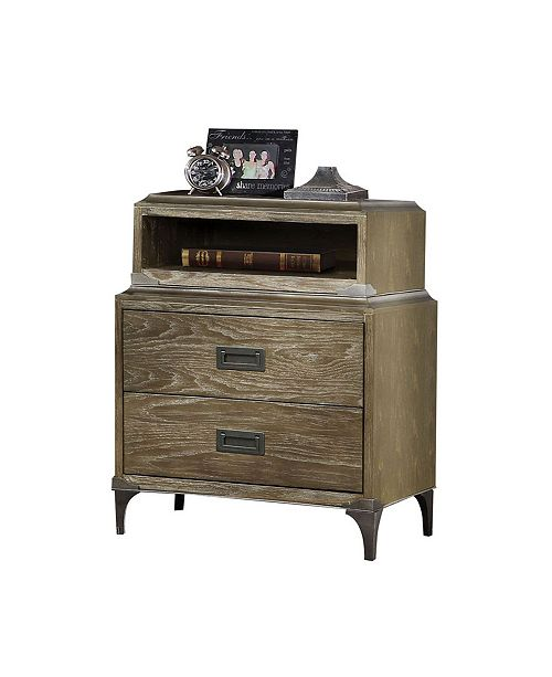 Acme Furniture Athouman Nightstand with USB Charging Dock
