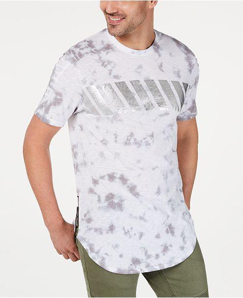 INC International Concepts INC Men's Tie Dye Plus T-Shirt, Created for Macy's