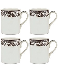 Delamere Mugs, Set of 4