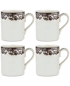Spode Delamere Mugs, Set of 4