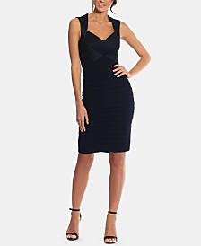 Betsy & Adam Petite Bandage Dress