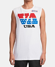 RVCA Men's Talladega Graphic Tank Top
