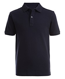 Nautica Big Boys Stretch Double Piqué Polo