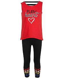 Ideology Strappy Graphic Tank Top & Leggings Separates, Created for Macy's