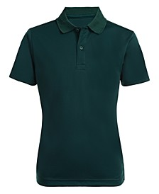 Husky Boys Performance Fabric Polo