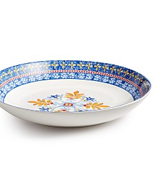 Martha Stewart Collection La Dolce Vita Pasta Serve Bowl, Created for Macy's