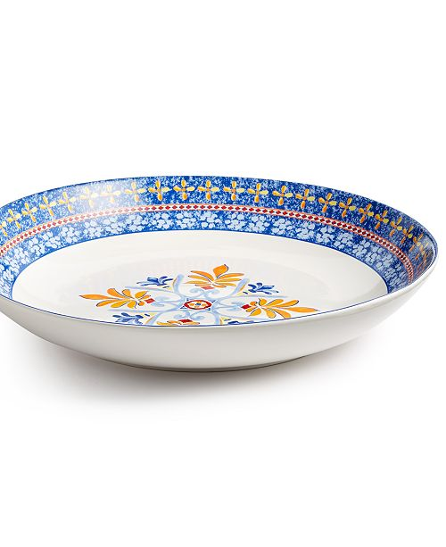 Martha Stewart Collection CLOSEOUT! La Dolce Vita Pasta Serve Bowl, Created for Macy's