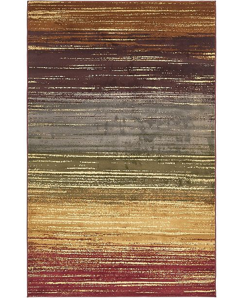 Bridgeport Home Kallista Kal6 Beige 5' x 8' Area Rug