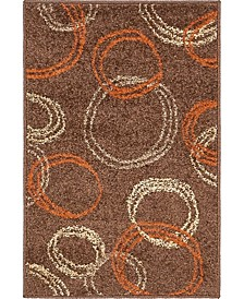 Jasia Jas05 Brown 2' x 3' Area Rug