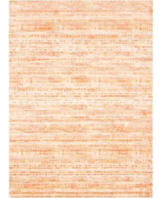 Haven Hav2 Orange 9' x 12' Area Rug