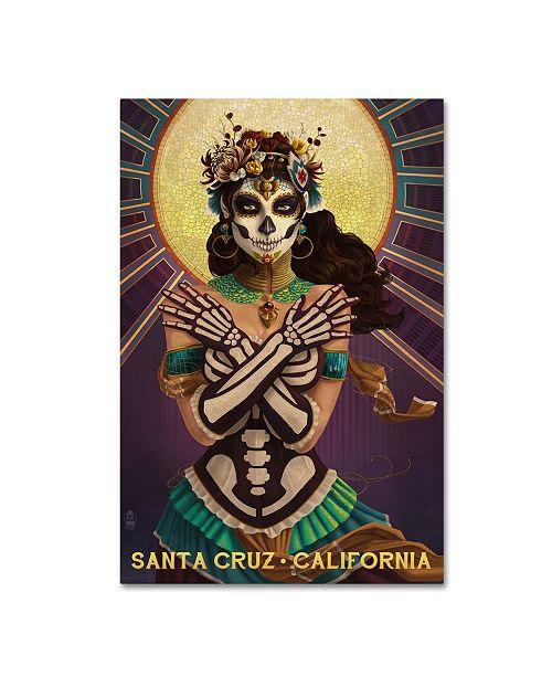 "Trademark Global Lantern Press 'Woman' Canvas Art - 16"" x 24"""