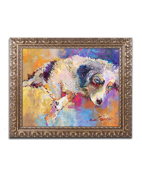 "Trademark Global Richard Wallich 'Marley' Ornate Framed Art - 16"" x 20"""