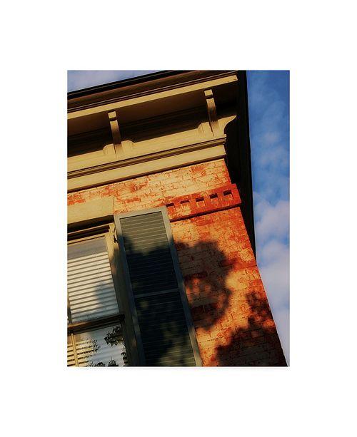 "Trademark Global John W. Golden 'Roof Corner' Canvas Art - 18"" x 24"""