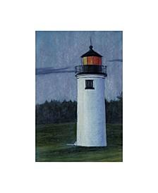 "Rusty Frentner 'Lighthouse' Canvas Art - 16"" x 24"""