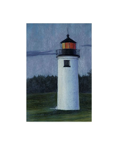 "Trademark Global Rusty Frentner 'Lighthouse' Canvas Art - 16"" x 24"""