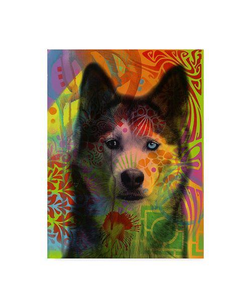 "Trademark Global Dean Russo 'Husky's Eye' Canvas Art - 18"" x 24"""