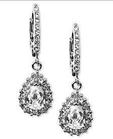 Silver-Tone Drop Earrings