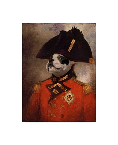 "Trademark Global J Hovenstine Studios 'King George' Canvas Art - 14"" x 19"""
