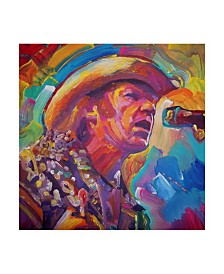 """Howie Green 'Neil Young' Canvas Art - 24"""" x 24"""""""