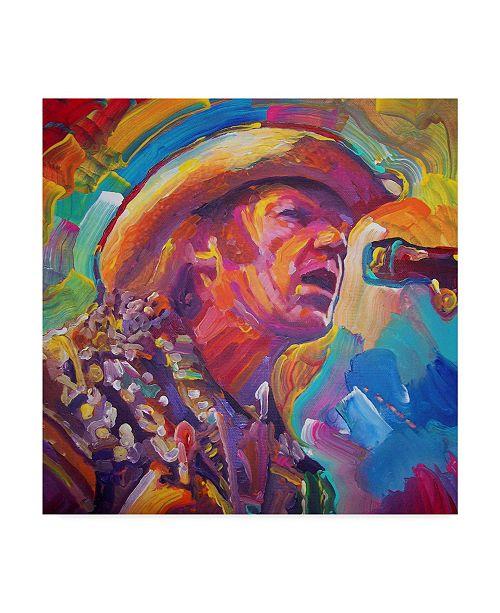"Trademark Global Howie Green 'Neil Young' Canvas Art - 24"" x 24"""