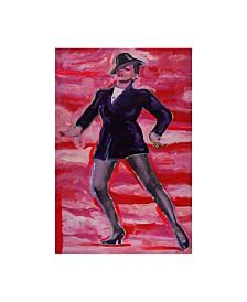 """Howie Green 'Judy Garland' Canvas Art - 12"""" x 19"""""""