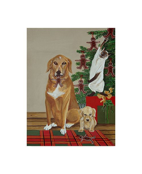 "Trademark Global Jan Panico 'Cookie Thieves' Canvas Art - 14"" x 19"""