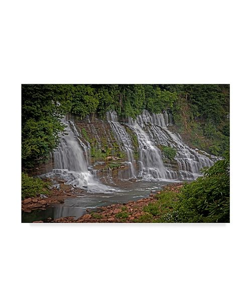 "Trademark Global J.D. Mcfarlan 'Twin Falls, Tn' Canvas Art - 19"" x 12"""