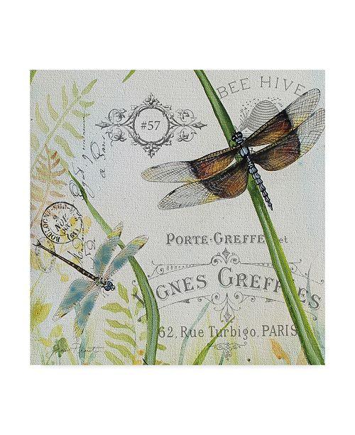 "Trademark Global Jean Plout 'Botanical Beauties 2' Canvas Art - 18"" x 18"""