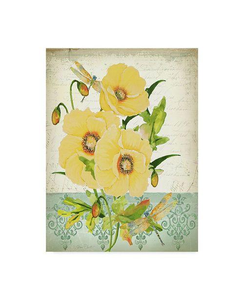 """Trademark Global Jean Plout 'Summertime Botanicals 7' Canvas Art - 24"""" x 32"""""""