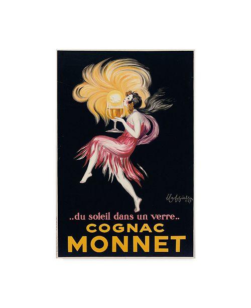 """Trademark Global Leonetto Cappiello 'Cognac Monnet, 1927' Canvas Art - 12"""" x 19"""""""