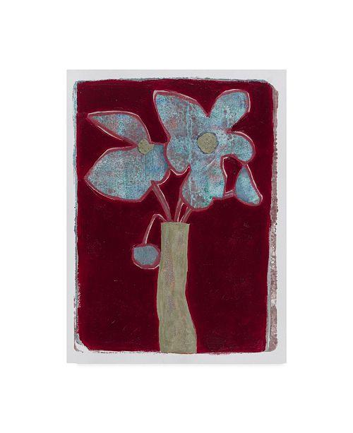 "Trademark Global Maria Pietri Lalor 'Blue Bouquet' Canvas Art - 14"" x 19"""