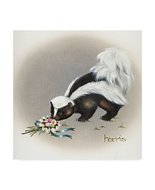 "Peggy Harris 'Heaven Scent' Canvas Art - 18"" x 18"""