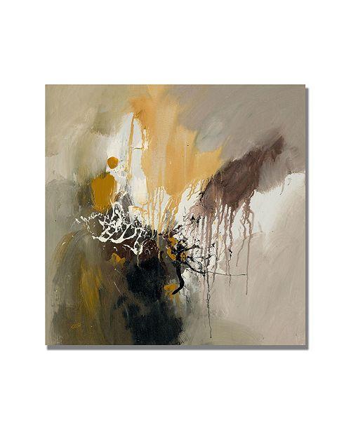 "Trademark Global Rio 'Abstract I' Canvas Art - 18"" x 18"""