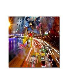 "'Traffic' Canvas Art - 18"" x 18"""