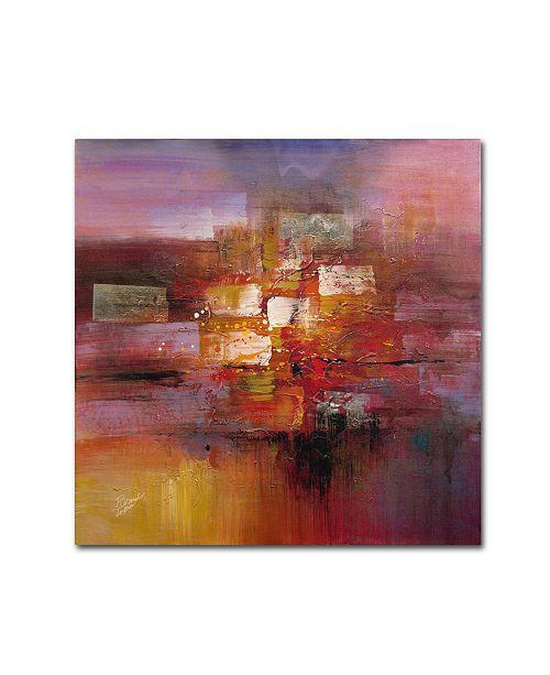 "Trademark Global Ricardo Tapia 'Shadows' Canvas Art - 18"" x 18"""