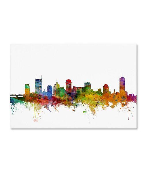 Home Decor Stores Nashville Tn: Trademark Global Michael Tompsett 'Nashville Tennessee