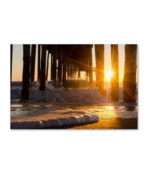 "Trademark Global PIPA Fine Art 'Sea Foam In The Sunlight' Canvas Art - 22"" x 32"""