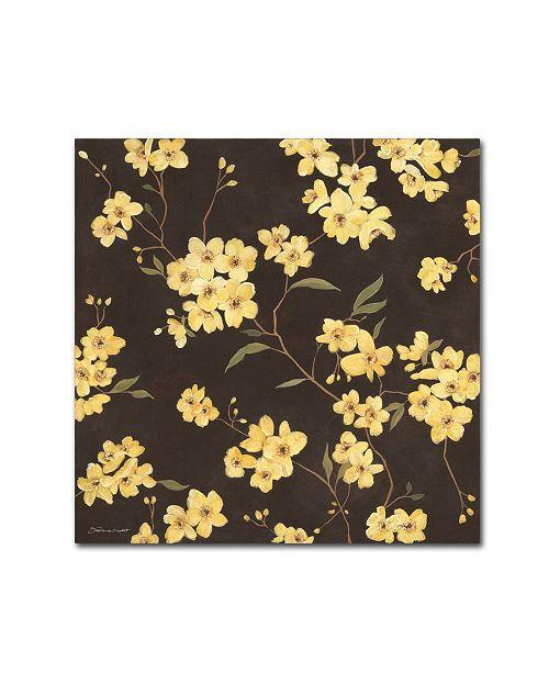 "Trademark Global Stephanie Marrott 'Yellow Blossoms' Canvas Art - 35"" x 35"""
