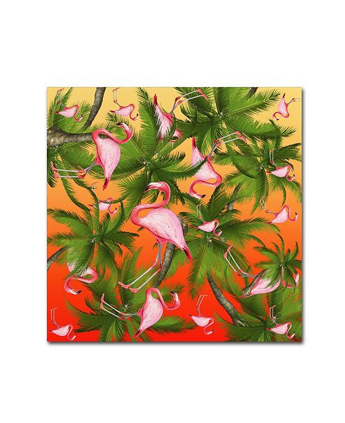 "Trademark Global Mark Ashkenazi 'Sumer Time 2' Canvas Art - 24"" x 24"""