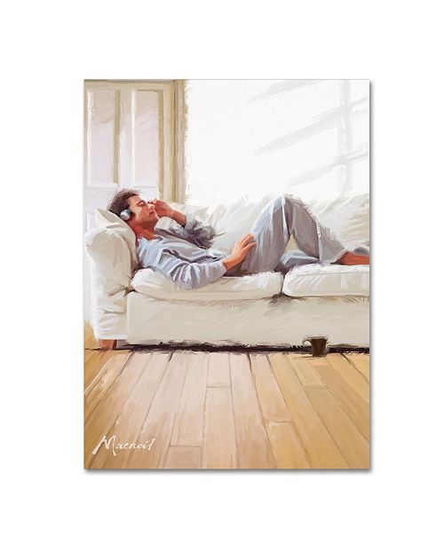 "Trademark Global The Macneil Studio 'Chillin' Canvas Art - 35"" x 47"""