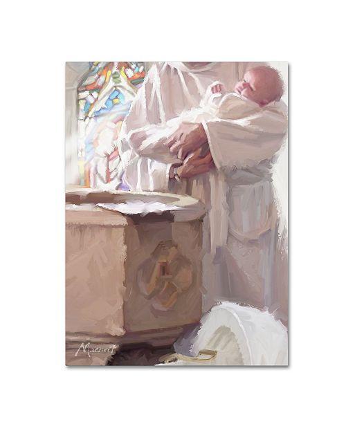 "Trademark Global The Macneil Studio 'Christening' Canvas Art - 24"" x 32"""