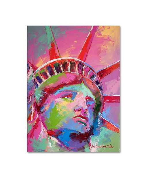 "Trademark Global Richard Wallich 'Lady' Canvas Art - 24"" x 32"""