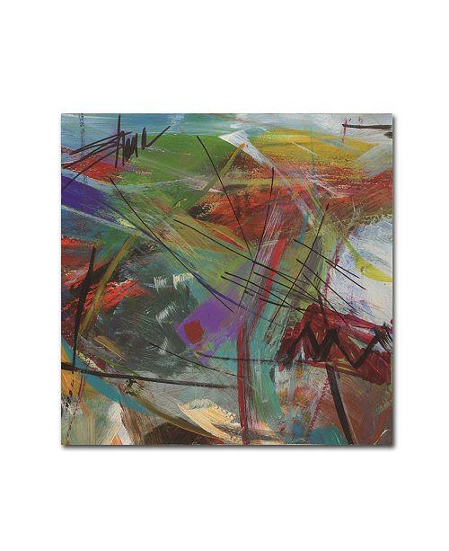 "Trademark Global Shana Dominguez 'Inescapable V' Canvas Art - 35"" x 35"""